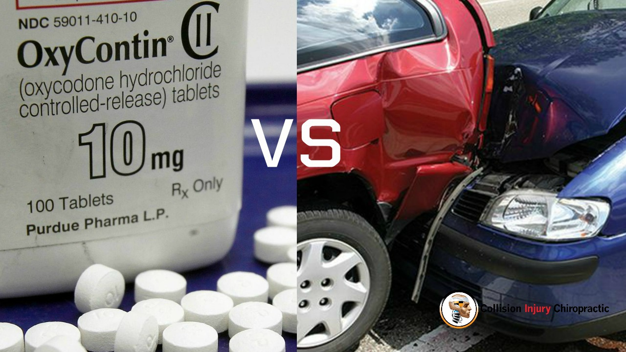 Death by Opioid Overdose Vs Death By Car Accidents.