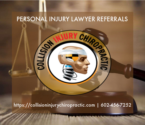 Graphic stating Personal Injury Lawyer Referrals