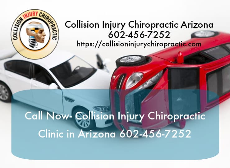 Graphic stating Call Now- Collision Injury Chiropractic Clinic in Arizona 602-456-7252